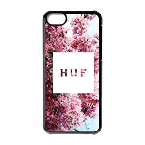 Hjqi - DIY HUF Cell Phone Case, HUF Custom Case for iPhone 5C