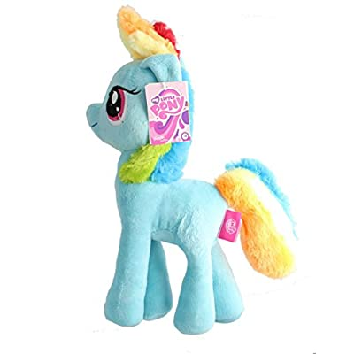 "'Filly My Little Pony Peluche Rainbow Dash "": Juguetes y juegos"