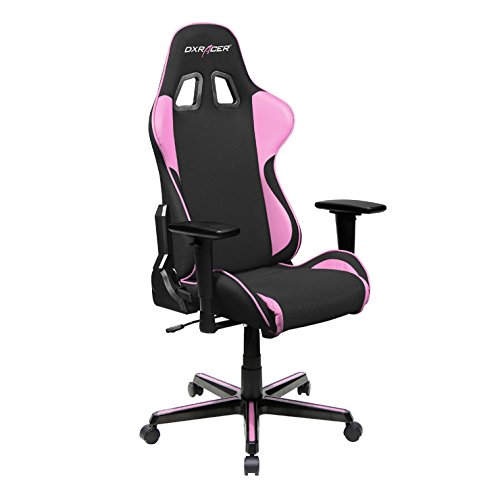 DXRacer FH11/NP Black Pink Formula Series Racing Bucket Seat Office Chair  Gaming Ergonomic with Lumbar Support