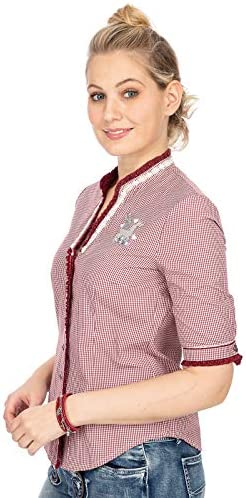 MarJo Traditional Blouse P07 Sandy bloodred