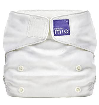 Driving A Roaring Trade size 3, White Totsbots Bamboozle Stretch Nappies