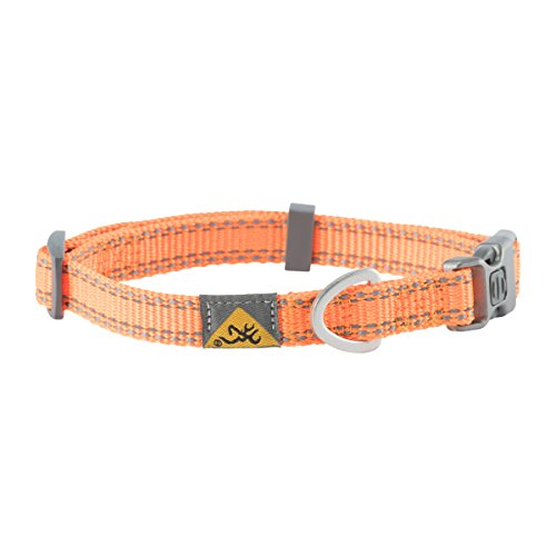Browning Classic Dog Collar, Small, Safety Orange