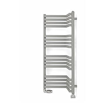 Eléctrico Toallero Incorner, incluye varilla de calefacción y calefacción elemento KTX 2, disponible en diferentes tamaños, toallero, toallero de secadoras, ...