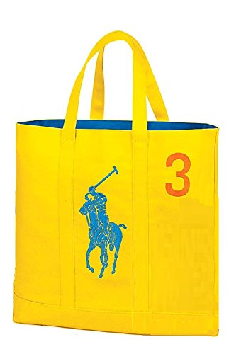 Ralph Lauren The Pig Pony Collection Tote Bag - Lauren Yellow Bag Ralph