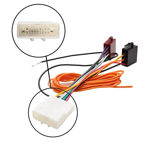 Inex Car Stereo Radio ISO Wiring Harness Connector Adaptor Cable Loom for Nissan Juke:
