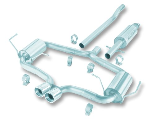 Borla 140119 Cat-Back Aggressive System Exhaust