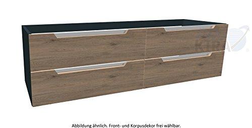 Pelipal Solitaire 7020 Waschtischunterschrank / 7020-WTUSL 05 / Comfort E / 170x48x50,5cm