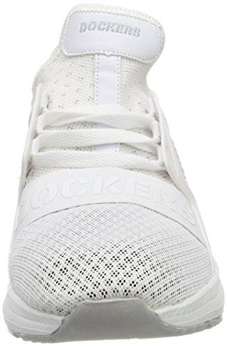 500 Weiß 700100 Unisex Sneaker 42TS602 Erwachsene Gerli by Dockers Weiss 0qxzpp