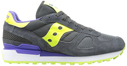 adulto Original Shadow sneaker scamosciata pelle Scuro unisex Grigio bassa Saucony twOPP