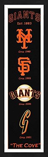 San Francisco Giants Framed Heritage Banner - San Outlets Francisco Factory