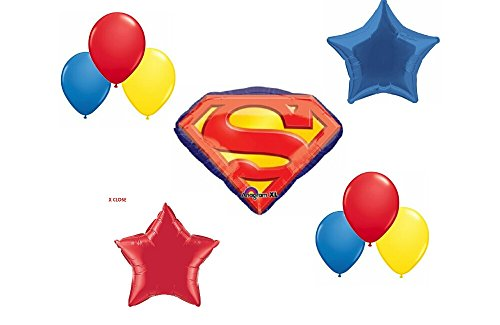 Superman Party Balloon Decoration -