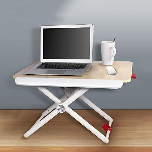 Nclon Mesa Plegable Ordenador,Mesa sobre de Cama Ajustable para ...