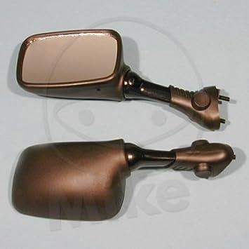 Motorrad Spiegel Verkleidungs Spiegel Links Kunststoff Schwarz Suzuki Gsx R 1100 Gu75c Bj 1993 Auto