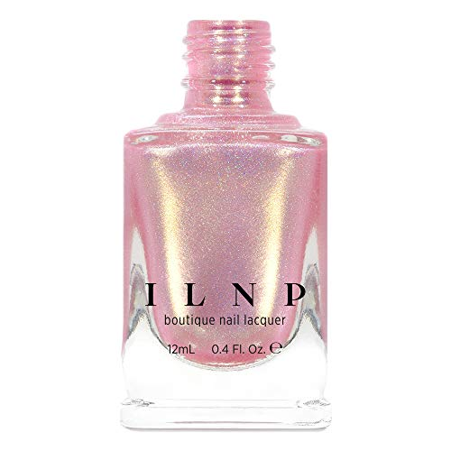 Holographic Shimmer - ILNP Yes Please - Soft Pink Holographic Shimmer Nail Polish
