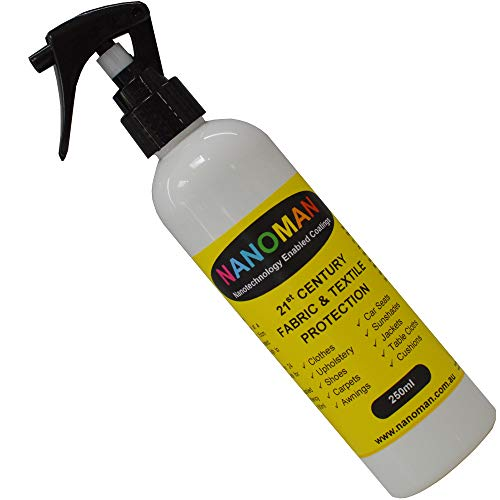 Shoe Protector Spray - Water Repellent/Waterproof Suede Shoes, Leather, Canvas, Nubuck & Fabric Boots. Latest Hydrophobic Nano-Tech Formula. Eco-Friendly. Stops Snow & Slush. Alcohol & Silicone Free