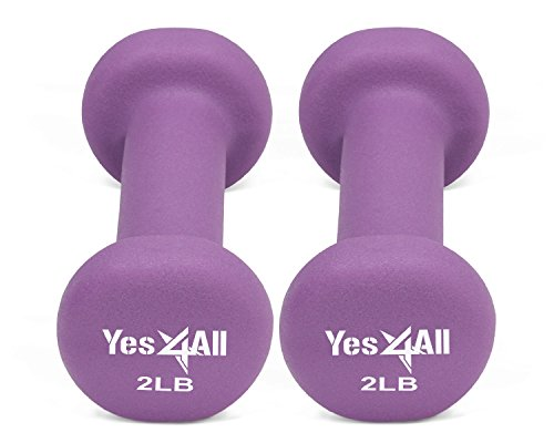 Yes4All Deluxe Neoprene Dumbbells