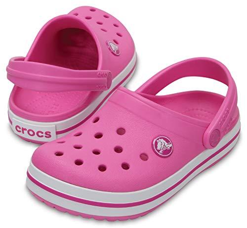 Sandália, Crocs, Crocband Kids, Party Pink, 32, Criança Unissex