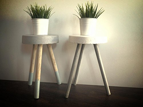 Super cute modern stool, plant stand