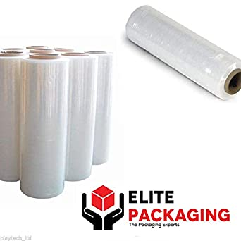 Extended Core Sticky on Both Sides Blown Stretch Wrap//Film 17mu 400mm x 300m