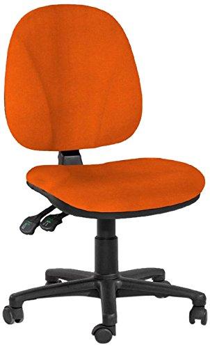 Sedie Da Ufficio Arancione.Topsit Sedia Da Ufficio Arancione Orange Amazon It Casa E Cucina
