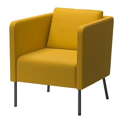 IKEA ekerö Skiftebo de colour amarillo y con forma de sillón ...