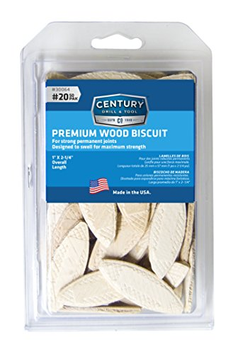 Century Drill and Tool 30064 Wood Biscuits, NO 20