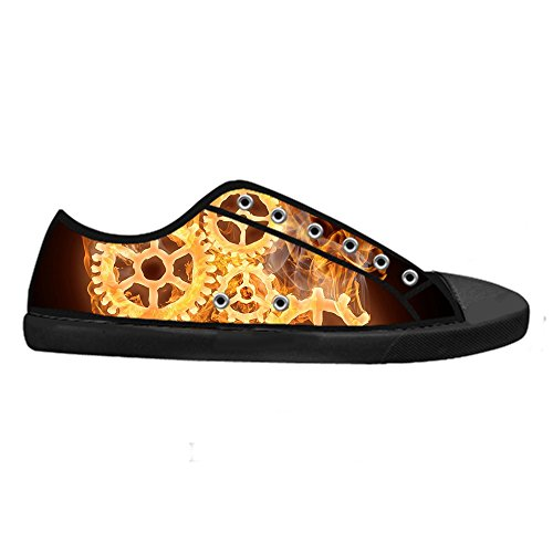 Dalliy regenbogen Mens Canvas shoes Schuhe Lace-up High-top Sneakers Segeltuchschuhe Leinwand-Schuh-Turnschuhe E