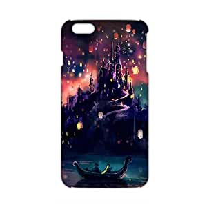Angl 3D Case Cover Cartoon Beautiful Castle Phone Case for iPhone6 plus