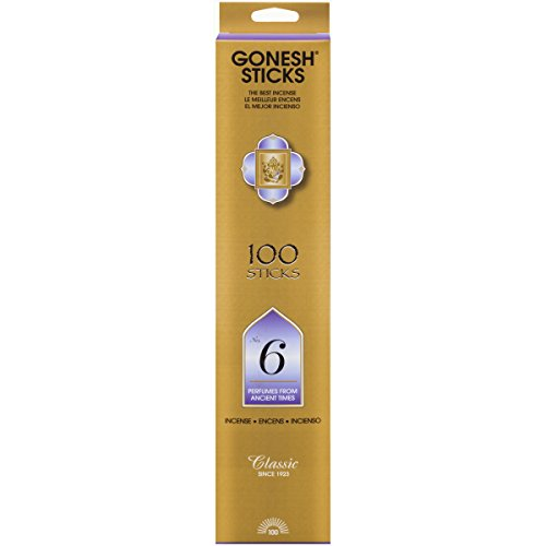 Harmony Cone - #6 – 100 STICK PACK – Classic Incense by GONESH
