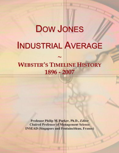 Dow Jones Industrial Average: Webster's Timeline History, 1896 - 2007