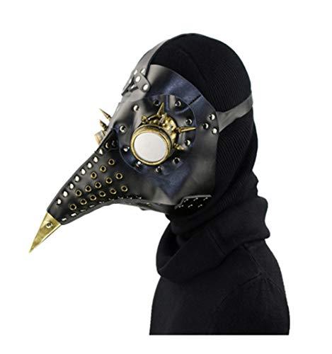 HY Steampunk Plague Beak Mask Halloween Props