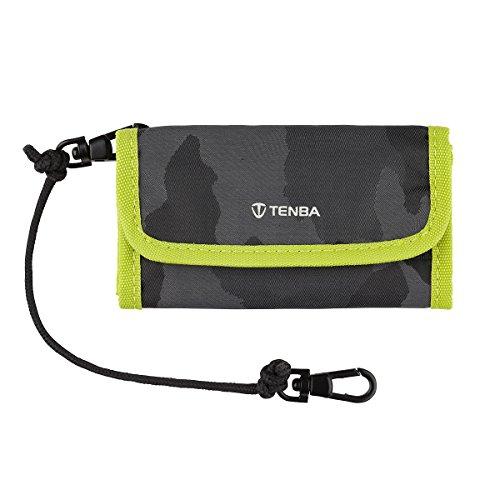 Tenba Reload CF 6 Card Wallet - Camouflage/Lime (636-219) (Tamrac Strap Brown)