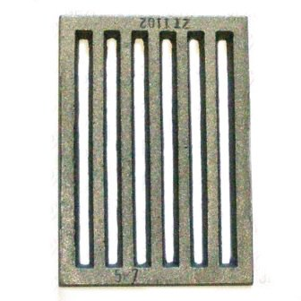 Roya Del Panel - Parrilla De Estufa Reja Hierro Fundido Rejilla De Chimenea 130x183mm