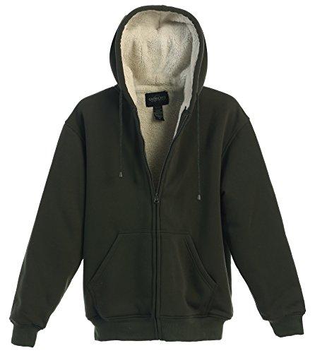 Fur Lined Hoodie - 6