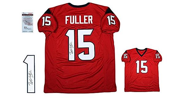 WILL FULLER Signed Custom Jersey - JSA Witness - Autographed - Pro ...