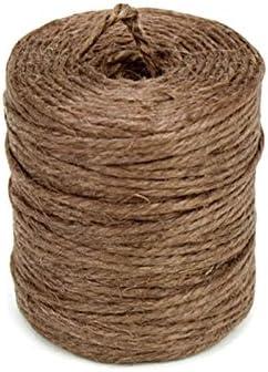 Homeford FKT0000000JR0226 Burlap Jute Twine Rope 3//32-Inch Brown