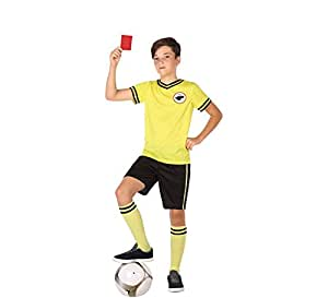Atosa-56988 Disfraz ÀRbitro Color Amarillo 5 a 6 años (56988