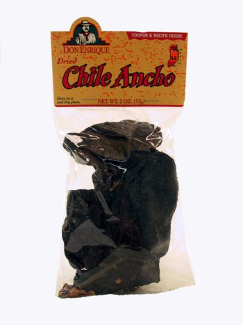 Melissa's Dried Ancho Chiles, 3 Bags (3 oz)