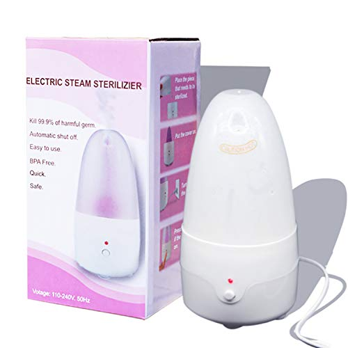 MR.A Menstrual Cups Steam Sterilizer Machine For Cleaning Your Diva Cup - Nature Fragrance Free Steamer Kit for Sterilizing Dutchess Menstrual cup- A alternative Solution For Any Period Cup On Travel