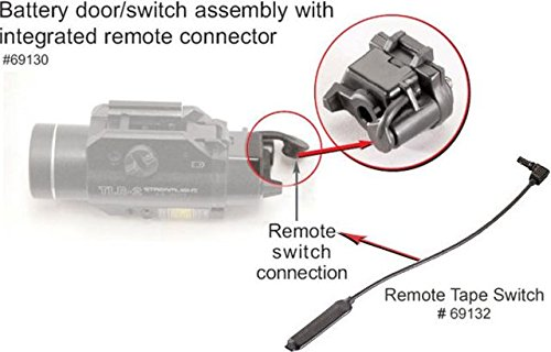Streamlight 69130 Battery Door Switch Assembly w/ Shotgun Coil Remote Switch KIT69134