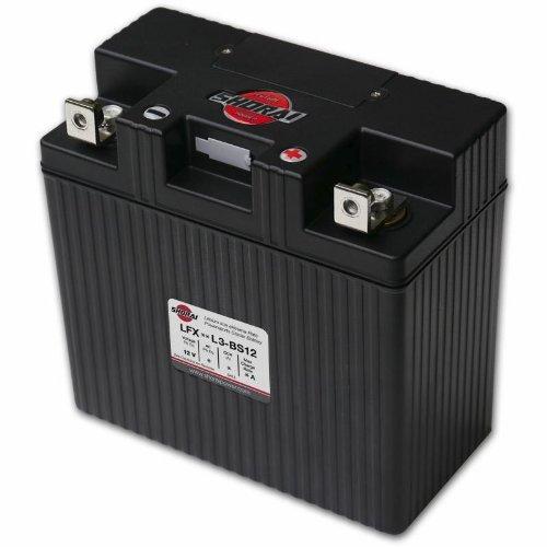 Shorai LFX Battery - LFX24A3-BS12/Black by Shorai