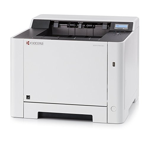 Kyocera 1102RD2US0 ECOSYS P5021cdw Color Network Printer, Output Speed Of Up To 22 PPM, 300 Sheet Paper Capacity, 150 Sheet Output Tray Capacity - USB, Wireless and Wired Network Interfaces ()