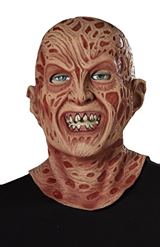 Freddy Mask For Sale (Forum Novelties 71244 Nightmare on Elm Street Super Deluxe Latex Freddy Mask, Multicolor)