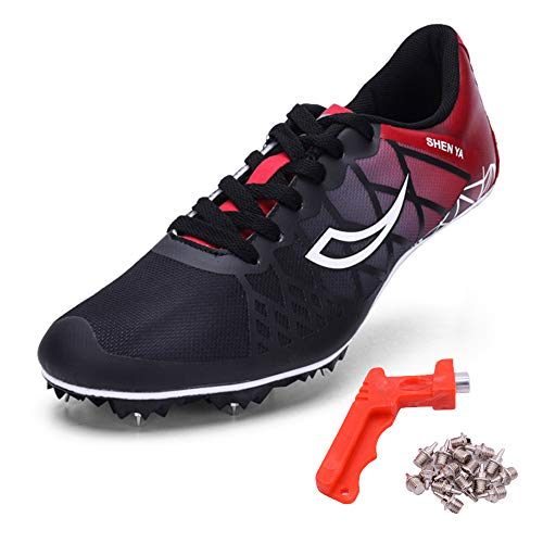 1ea67ca2e Ifrich 2019 Men Spikes Athletics Racing Shoe Track and Field (US 10