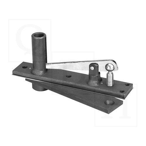 Center Hung Top Pivot (Rixson 340 Satin Chrome Center Hung Top Pivot)