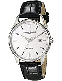 Men's FC303S5B6 Index Analog Display Swiss Automatic Black Watch