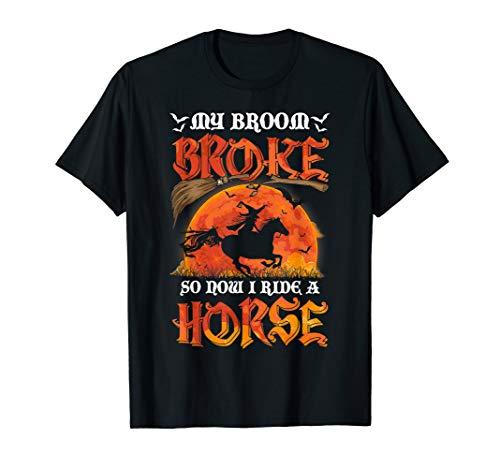 Horse Halloween Ideas (My broom broke So now I ride a Horse Halloween idea)