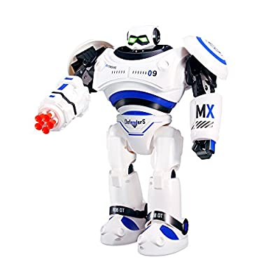 Theefun Large Robot Toy, Remote Control Combat Fighting Robot for Kids Birthday Present, Programmable Interactive Walking Singing Dancing for Boys or Girls