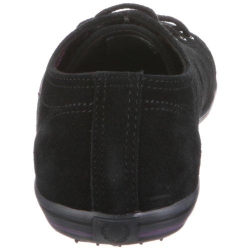 Fred Perry KINGSTON SUEDE B6122 - Zapatillas de deporte para hombre Negro