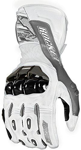 Joe Rocket Flexium Tx Glove White / Gun Metal XL 1440-2705